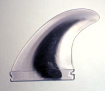 Injection molded concept fin