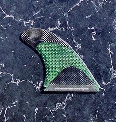 Futures Fin Systems RTM carbon fiber surfing fin
