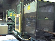 Newberry vertical molding machine